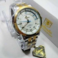 JAM TANGAN PRIA ORIGINAL TETONIS KOMBI GOLD BIRU - JAM FASHION SHOP