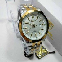 JAM TANGAN PRIA ORIGINAL TETONIS KOMBI GOLD PUTIH - JAM FASHION SHOP