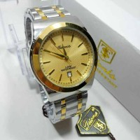 JAM TANGAN PRIA ORIGINAL TETONIS KOMBI GOLD -JAM FASHION SHOP