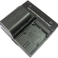 Charger Canon BP-955/BP-975 for C100/C300/C500/XF-105/XF-205 (DV-2C)