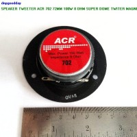 harga Speaker Tweeter Acr 702 72mm 100w 8 Ohm Super Dome Twiter Magnet Besar Tokopedia.com