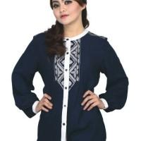 pakaian atasan wanita, baju blouse muslimah terbaru rln 075
