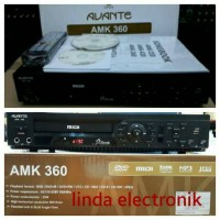 DVD PLAYER KAROAKE ADVANTE AMK 360 (MURAH BAGUS ORYGINAL)