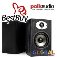 Polk Audio TSX110B Bookshelf Speaker stereo