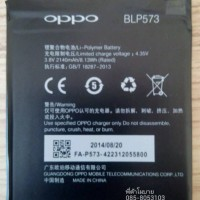 Battery Baterai Batre Batrei OPPO N1 MINI ORIGINAL || BLP573 Battery