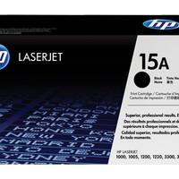 Toner - HP - HP 15A Black LaserJet Toner Cartridge (C7115A)