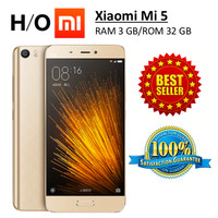 Xiaomi Mi5 Gold RAM 3GB Internal 32GB Original NEW
