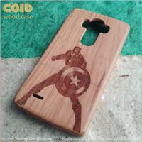 harga M.2 CAPTAIN AMERICA | Wood Case COID Casing Kayu Asli Ukiran Relief Tokopedia.com