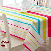 Taplak Meja Anti Air SALUR Table CLoth plastik pelindung makan dapur