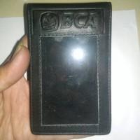 dompet id card magnet BANK BCA kulit