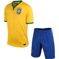 Jersey Sepakbola CBF Brazil No 10 Neymar Jr Bahan Mesh Cloth