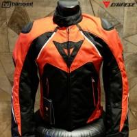 Dainese Hawker D-Dry Waterproof Jacket - Red/Black