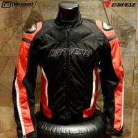 Dainese Superspeed D-Dry Waterproof Jacket - Red/Black