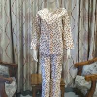 Baju Tidur / Piyama Set Wanita / Setelan Lengan Panjang Celana Panjang