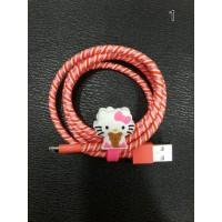 Kabel Iphone Data Lightning Pelindung Kabel Penjepit Kabel