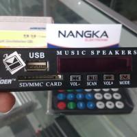 Sooer MP3 kit modulator digital player support USB SD Card + FM Radio