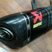 Knalpot Akrapovic Slip On Yamaha R25 / MT25. Original!!