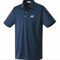 harga Polo Shirt/kaos Kerah Yonex Navy Tokopedia.com