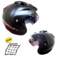 harga Helm VP-PDH 02 (Polos hitam doff) Tokopedia.com