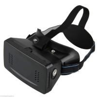 Cardboard Terios II / 2 VR (Virtual Reality) 3D lensa yang lebih besar
