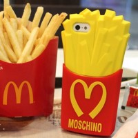 Case McDonald Moschino French Fries 3D Iphone 5/5S/5C/5SE