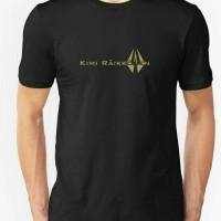 Kaos/T-shirt/Baju KIMI RAIKKONEN F1 black
