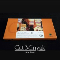 Cat Minyak set 12 Warna