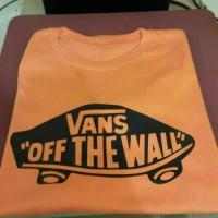 Tshirt/t-shirt/polo/kaos Surfing Vans Off The Wall