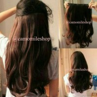 HAIRCLIP WAVE/HAIRCLIP GELOMBANG/HAIRPIECE