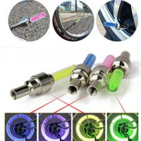 Harga pentil penutup angin ban nyala gowes sepeda motor mobil lampu led | antitipu.com