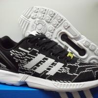 ADIDAS ZX FLUX Weave PREMIUM Quality Grey Black Run