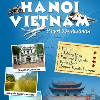 Buku Travel Guide Cara Mudah dan Mudah ke HANOI, VIETNAM
