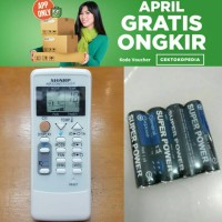 Remot Remote AC Sharp ORIGINAL ion Plasmacluster