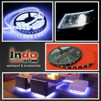 LED Strip Putih Lebih Terang Bagus Lampu LED Meteran Variasi Lampu
