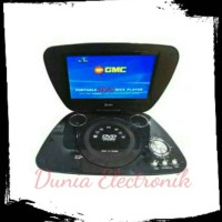 harga DVD TV GMC Portable 7 Inch LED Tokopedia.com