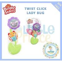 Bright Starts Twist Click Lady Bug