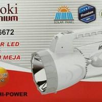 Lampu Emergency / Senter LED @AOKI AK-6672