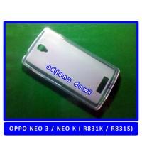 Silikon Case Oppo Neo K 3 R831k R831s Bening Transparant
