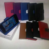 leather case evercoss elevate y A66A