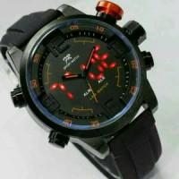 Jam Tangan Pria Original Fortuner Dual Time