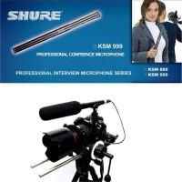 Microphone Mic Kabel Shure Ksm 888 Condenser Telescopic Shotgun