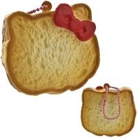 Gantungan Kunci Hello Kitty Squishy Sweets Cafe Kue Gulung Muka Polos