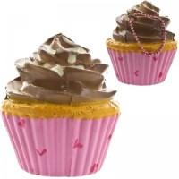 Gantungan Kunci Squishy Sammy The Patissier - Cupcake Pearl Pink