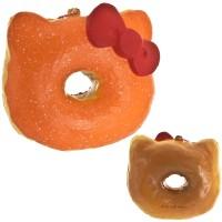 Gantungan Kunci Hello Kitty Squishy Sweets Cafe - Big Donut Mangga