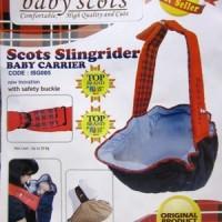 Gendongan bayi Baby Scots Slingrider / Gendongan Keong