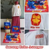 Baju / Sarung Koko Anak Karakter Avenger M