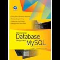 Pemrograman Database Menggunakan Mysql
