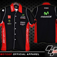 harga Kemeja MotoGP Yamaha Movistar Hitam Murah Terbaru (T-Shirt Moto GP) Tokopedia.com