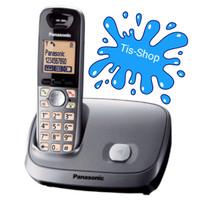 Panasonic Cordless Phone KX-TG6511 Wireless Speakerphone - Silver