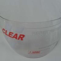 harga Kaca helm teropong INK CL 25 / INK CL 26 warna bening (putih) Tokopedia.com